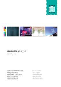 Preisliste 2019/2020